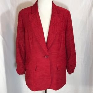 Chico's Red Suit Jacket